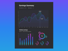Infographics: Dashboard of sta