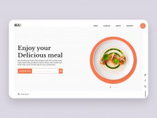 Mealy Landing page