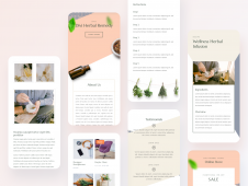 Herbal Remedy Mobile Pages