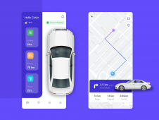 Electric Car Monitoring App