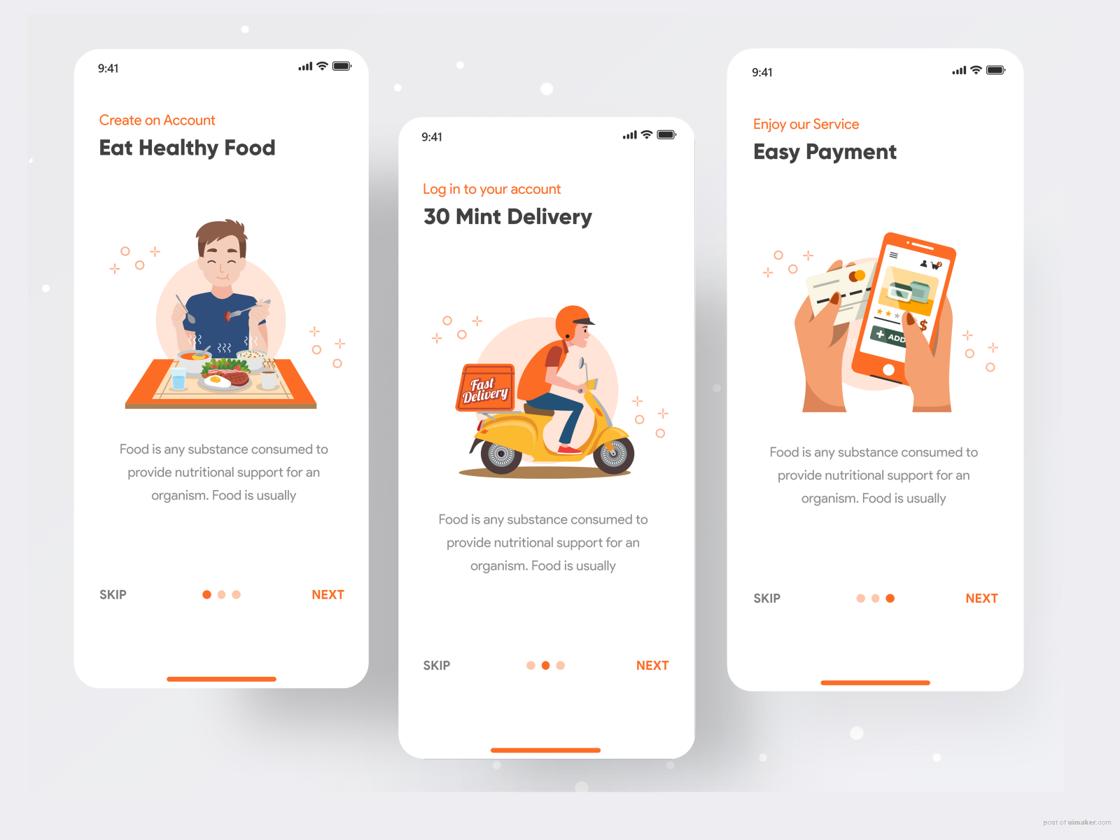 Food Delivery - Onboarding - Food Delivery