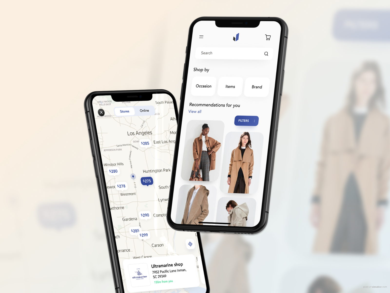 E-commerce app for fashion retailers