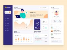 Dashboard for freelance design