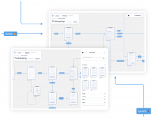 Blueprint UX prototyping