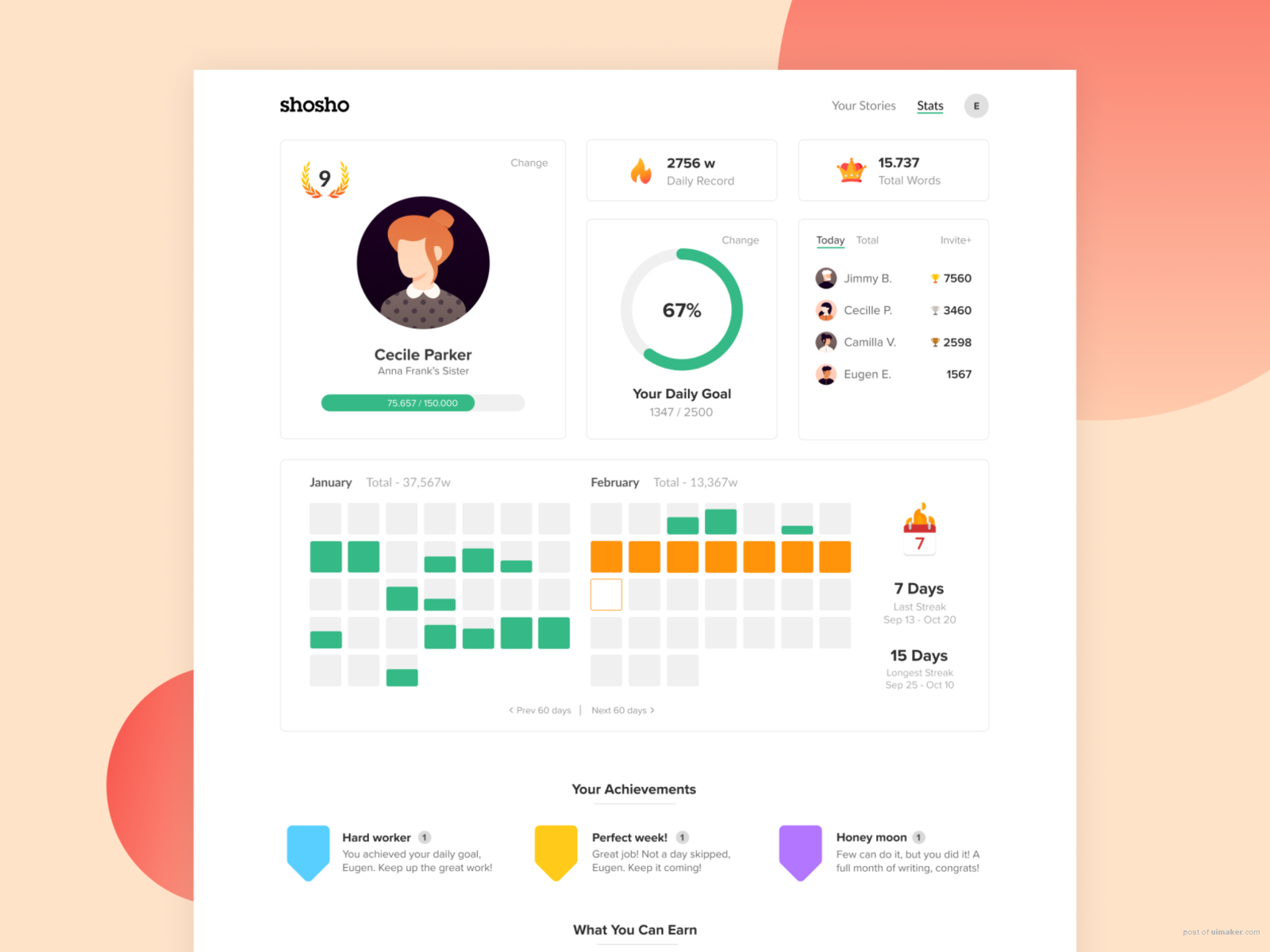 Shosho — Early Iteration
