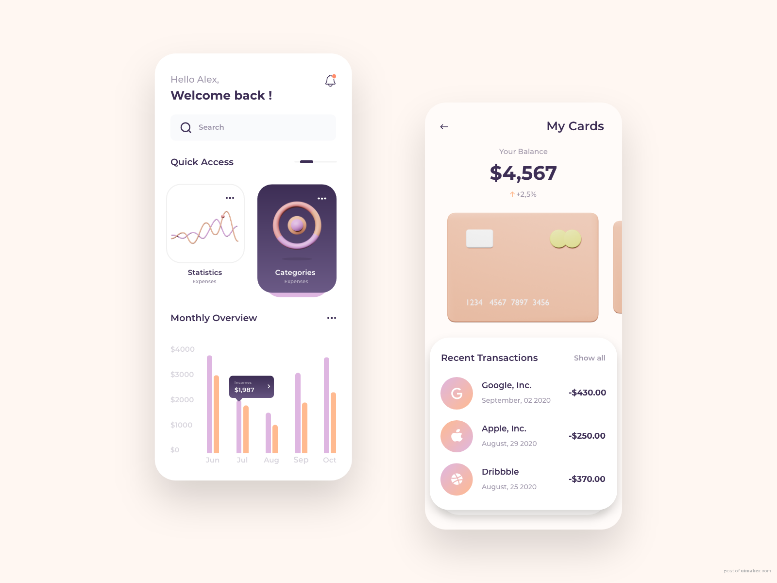 Banking Service - Mobile