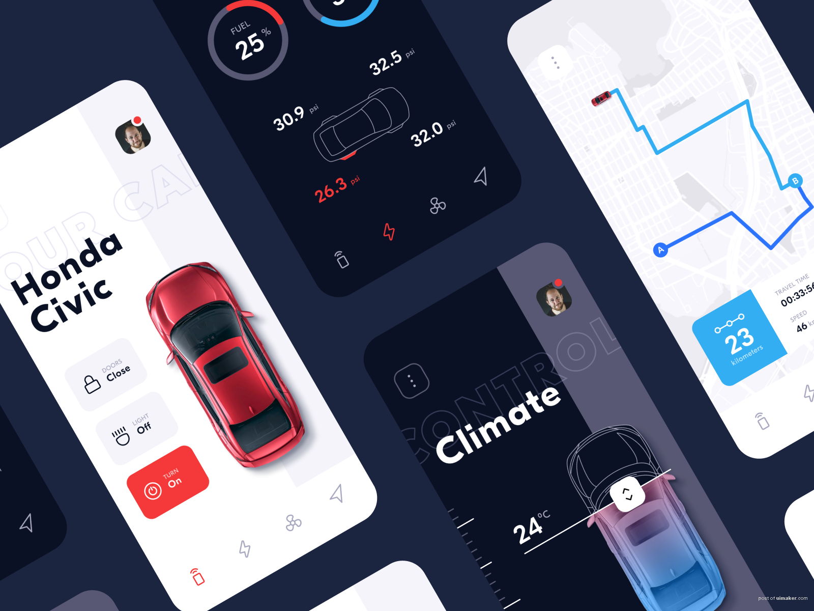Vehicle Assistant App