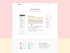 Shosho — Website Editing