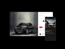 Audi Shared Fleet Desktop