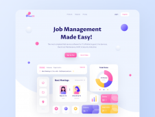 MeetOS Job Management Webpage