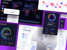 Orion UI kit Charts templates