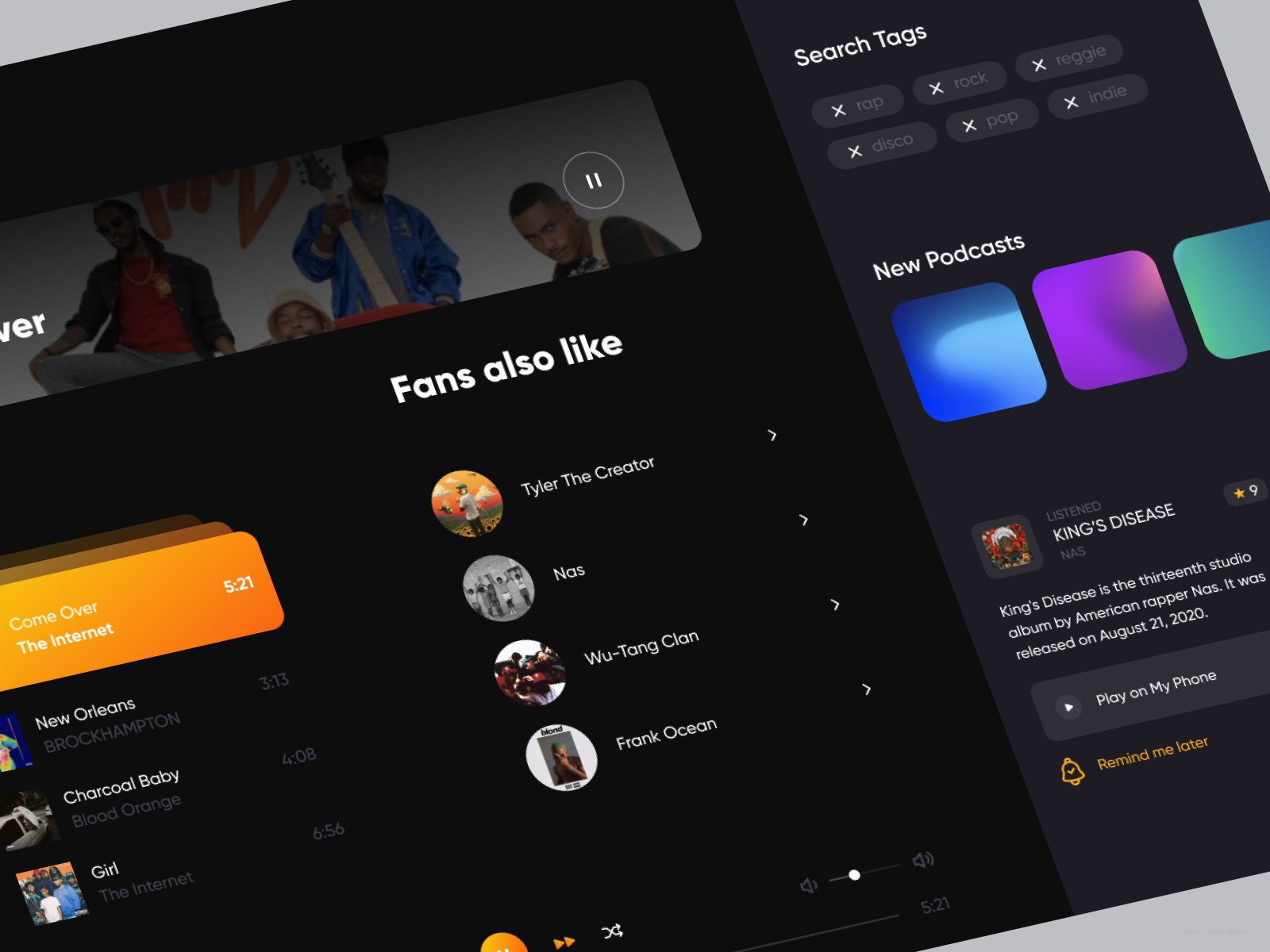 Music Dashboard
