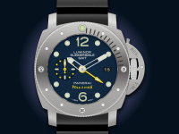 Luminor Submersible 1950 GMT